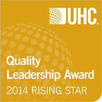 UHC Quality Leadership Award - 2014 Rising Star Award