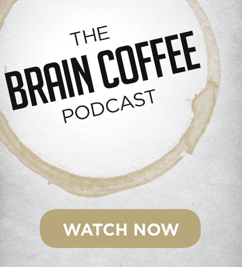 The Brain Coffee Podcast is now online