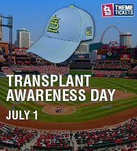 Transplant Awareness Night with the Cardinals