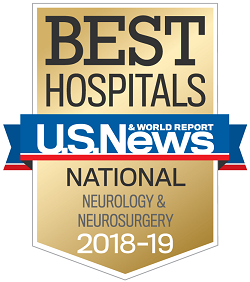 2018 Best Hospitals - Neurology and Neurosurgery