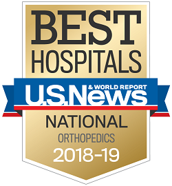 2018 Best Hospitals - Orthopedics