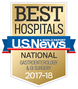 2017 Best Hospitals - Gastroenterology and GI Surgery